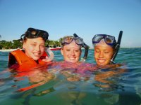 Snorkel in the Caribbean Sea