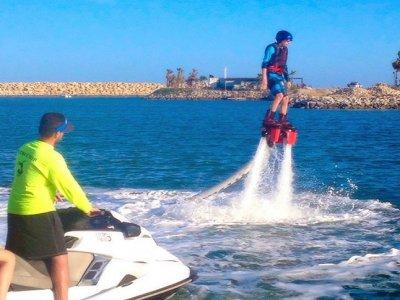 Lección particular de FlyBoard en Los Cabos