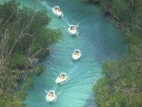 Recorrido en lanchas rápidas 90 min. en manglares