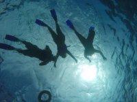 Sufing in Cancun