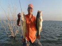 Pescados en presa