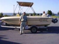 Lancha de recorrido pesquero