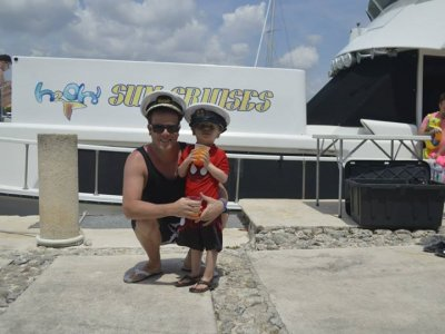 Private yatch trip, 4 hours. for kids.