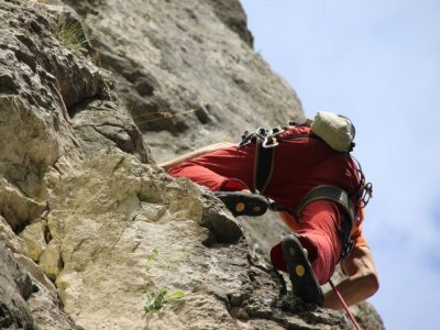 Climbing and rappel excursion in El Diente