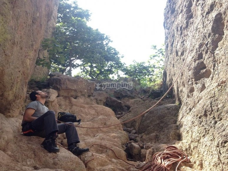 Disfruta de la escalada