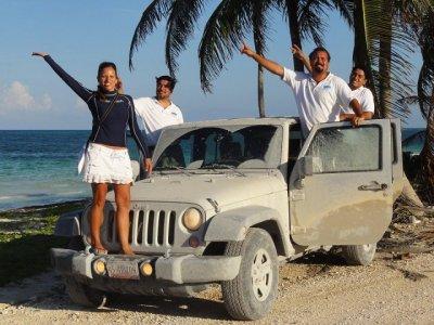 Expedición Jeep 4x4 por la Reserva de Sian Ka'an