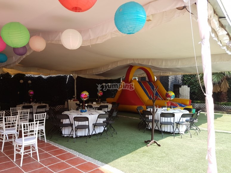 Gran espacio para tu festejo
