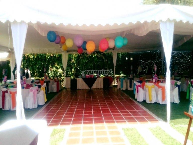 Gran espacio para tus invitados