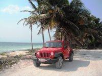 sian ka´an jeep