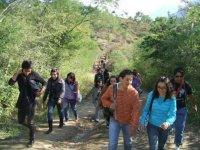 Camp for mountain activities in Santiago