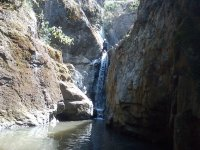 Rappelling in Mineral del Chico