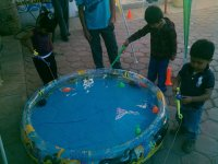 Fishing for fair party activities