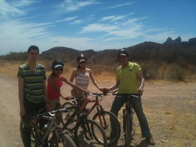 1 hour mountan bike rental, San Carlos