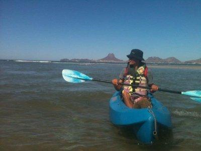 Renta de kayak sencillo 1 día San Carlos