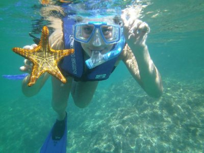 Renta de equipo de snorkel 1 día en San Carlos