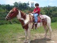 Horseback riding in Xico