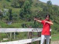 Archery in Xico, Veracruz