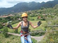 Rappel de 40 metros con instructor en Malinalco