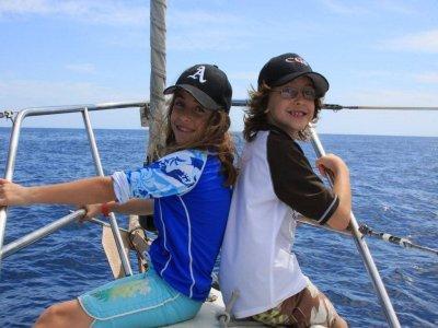 Paseo en barco y snorkel para niños Los Cabos