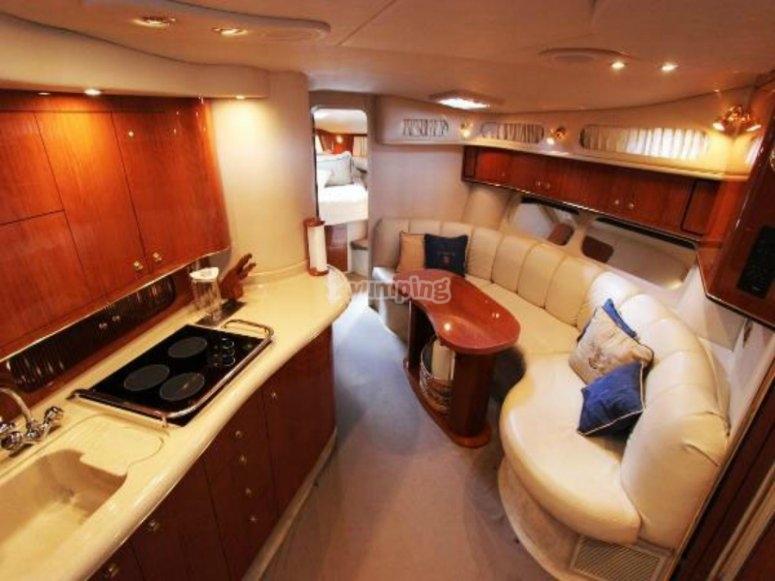 El interior de nuestro barco