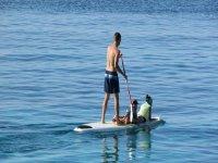 paddle surf acompanado