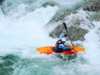 kayaking in rapids
