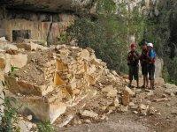 Camino a la cueva