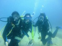 Bottom sea diving