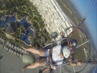 Basic paramotor course in Acapulco