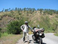 Trayecto en moto