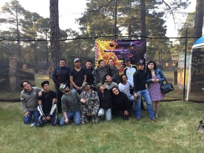 Paintball match, Ajusco