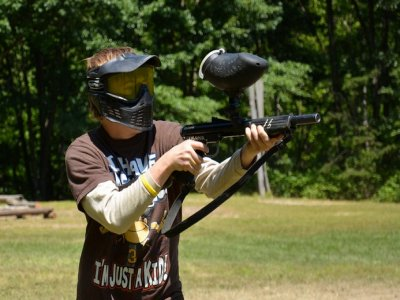 Paintball package 15 people birthday celebration