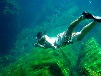 Excursión de snorkel Aventuras Mayas en cenotes