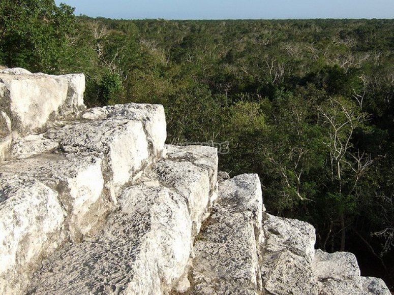 The archaeological siteof Cobá