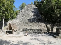 The pyramid of Cobá