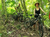 Biking tour: archaeological area of Moxviquil