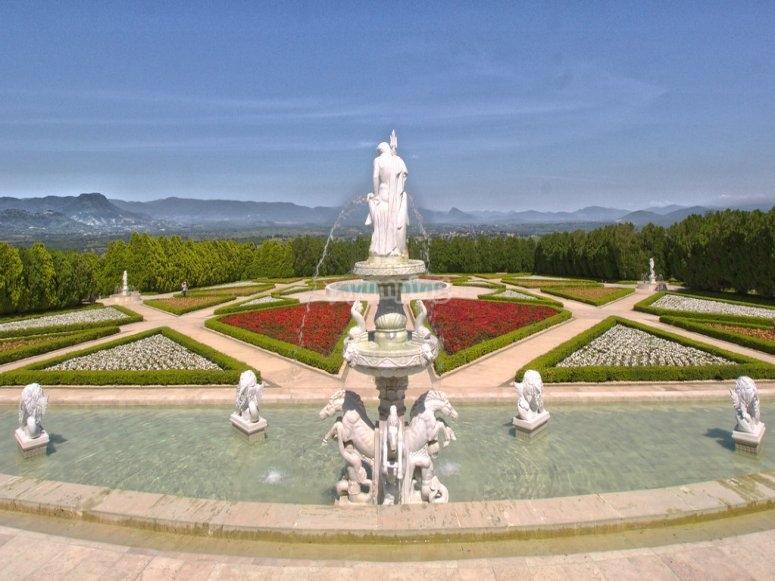 Jardines de México vista