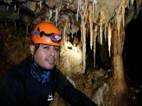 caving with experts