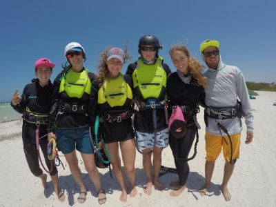 Intensive kitesurf course of 12 hours