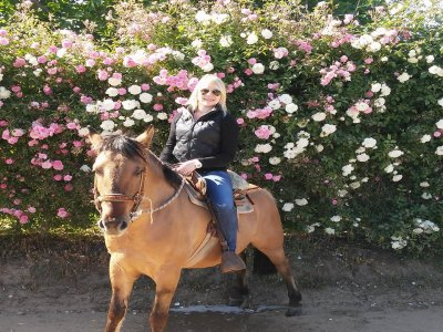 Horseback tour and waterfalls Valle de Bravo 2h