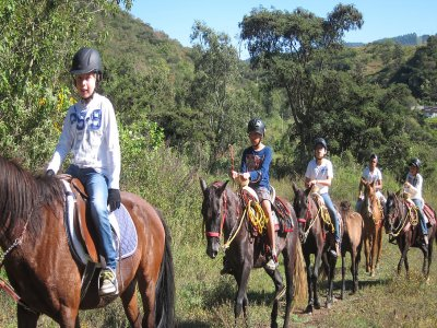 Horseback ride 2 hours for kids 6-12 years old