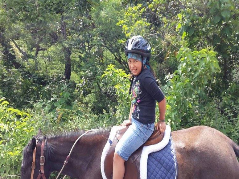 Horseback riding for children