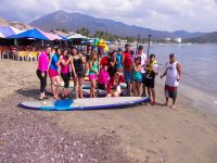 Group surf paddle