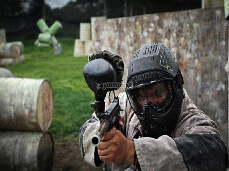 Apunta y dispara