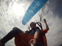 selfie skydiving