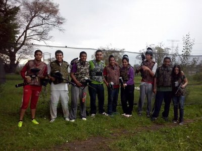 Brithday paintball package in Lerma