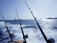 Excursion de pesca en el mar