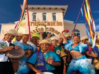 Barco Fiesta y show caribeño en playa Isla Mujeres