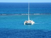 Catamaran trip and Beach Club, Isla Mujeres.