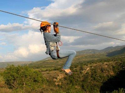 7 Zip Lines Canopy in San Miguel de Allende 2h
